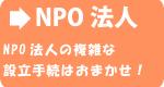 NPO法人の複雑な設立手続はお任せ!